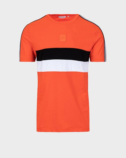 T-Shirt Antony Morato MMKS01835_FA100144_5053 pomarańczowy
