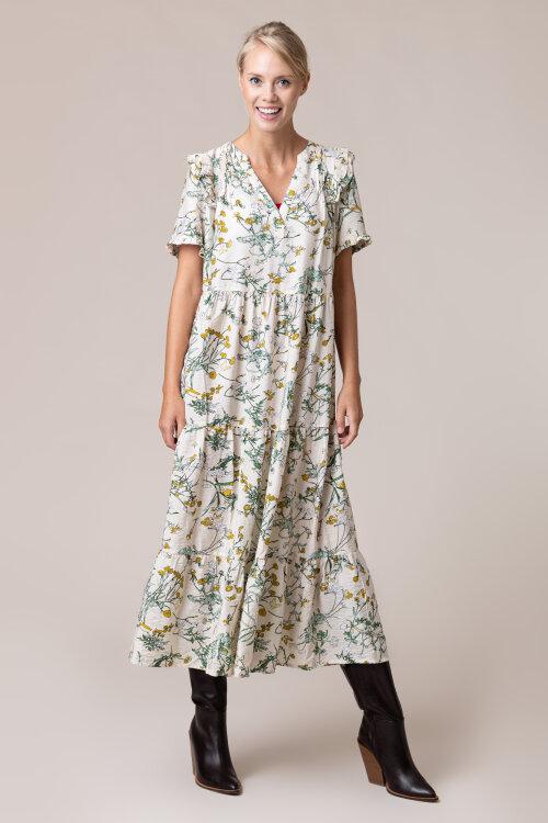 Sukienka Lollys Laundry 20214_2017_FLOWER PRIT kremowy