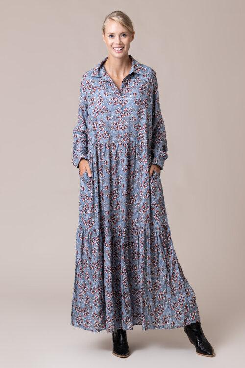 Sukienka Lollys Laundry 20337_2047_FLOWER PRINT niebieski