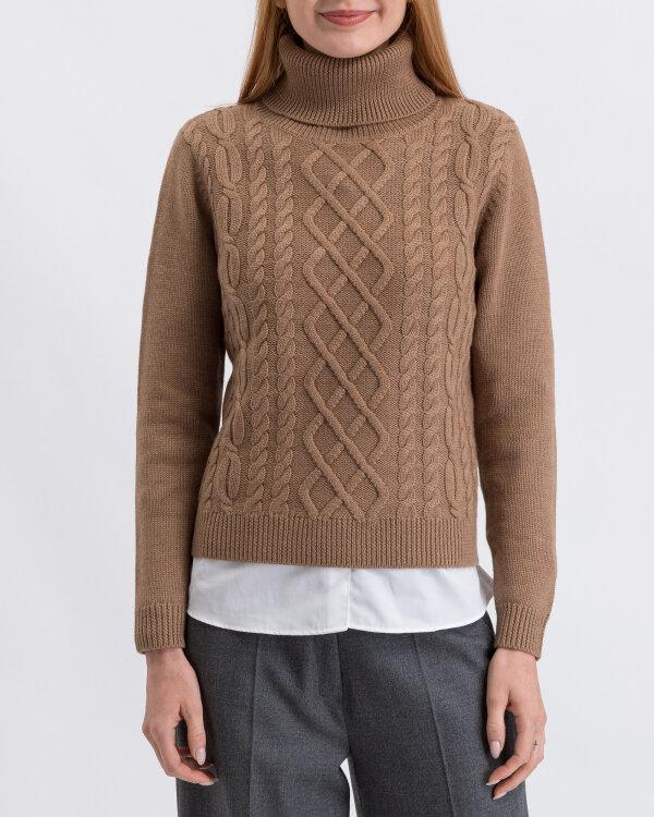 Sweter Stenströms 450064_2777_250 brązowy