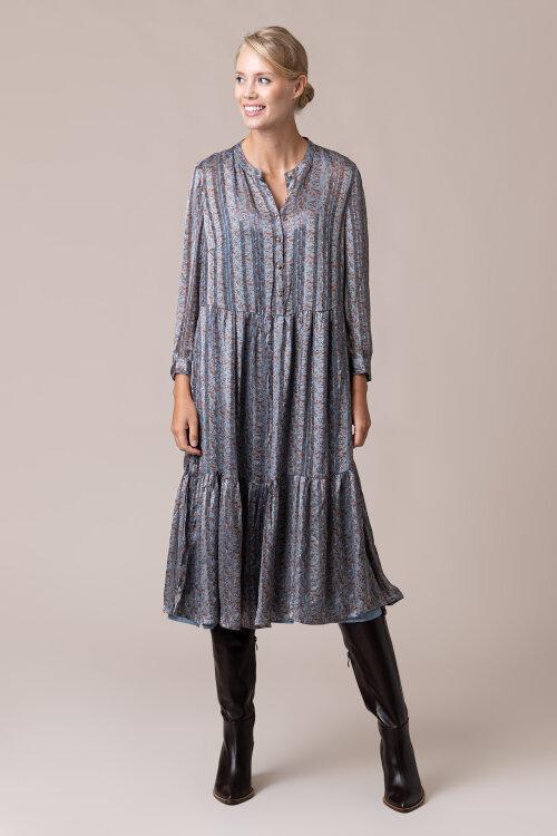 Sukienka Lollys Laundry 20379_2057_DUSTY BLUE niebieski