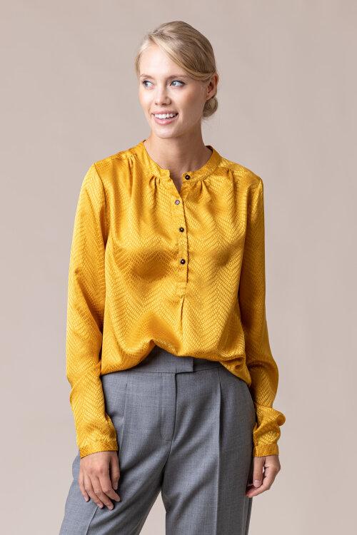 Koszula Lollys Laundry 20339_5028_MUSTAD żółty