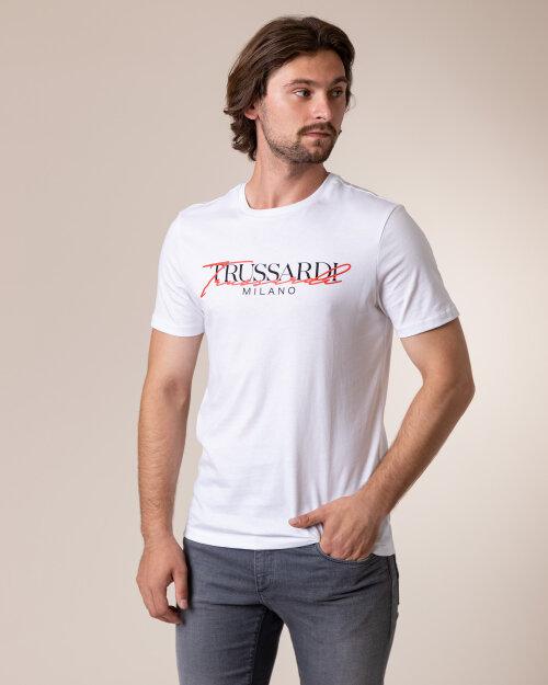 T-Shirt Trussardi  52T00382_1T003076_W001 biały