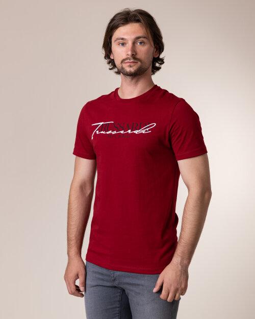 T-Shirt Trussardi Jeans 52T00382_1T003076_R010 Czerwony Trussardi  52T00382_1T003076_R010 czerwony