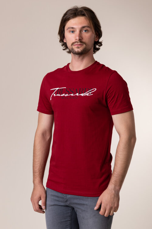 T-Shirt Trussardi Jeans 52T00382_1T003076_R010 czerwony