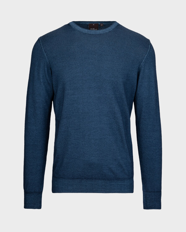 Sweter Oscar Jacobson CUSTER 6439_5400_274 niebieski