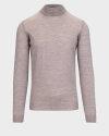 Sweter Oscar Jacobson HILTON 6604_8023_466 beżowy