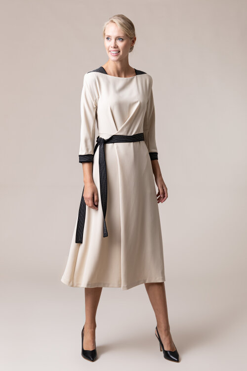 Sukienka Beatrice B 20FA6346STAR_120 beżowy