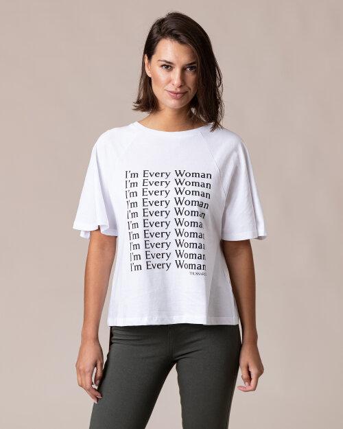 T-Shirt Trussardi  56T00289_1T001675_W001 biały