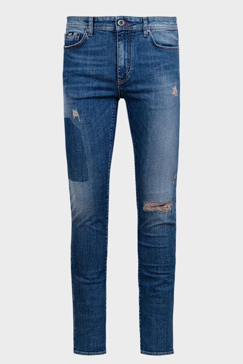 Spodnie Gas 1380_ALBERT SIMPLE_WG38 niebieski