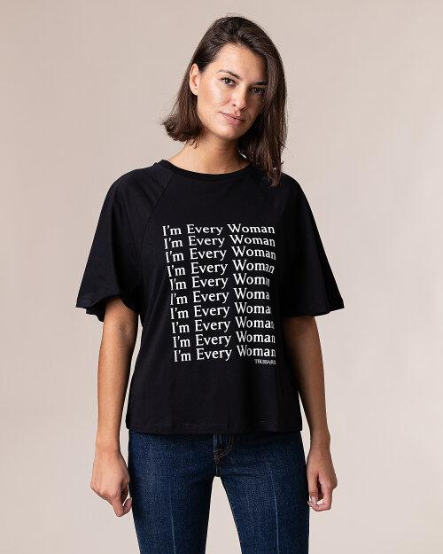 T-Shirt Trussardi  56T00289_1T001675_K299 czarny