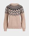 Sweter Trussardi Jeans 56M00318_0F000539_B125 beżowy