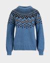 Sweter Trussardi Jeans 56M00318_0F000539_U249 niebieski