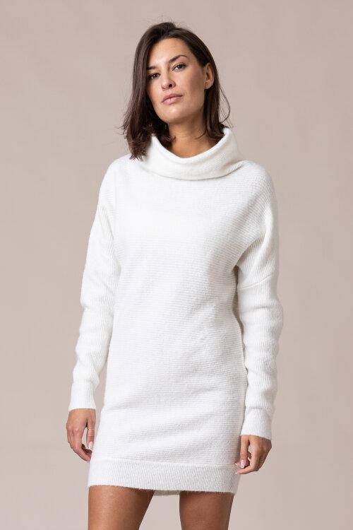 Sukienka Na-Kd 1018-005303_OFF WHITE kremowy