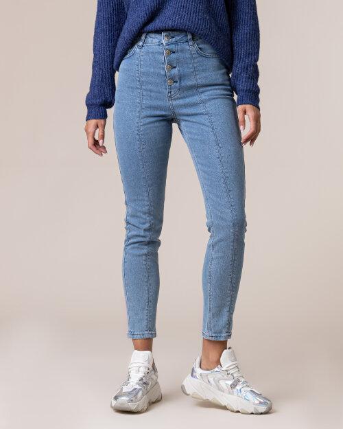 Spodnie Na-Kd 1018-004563_LIGHT DENIM niebieski