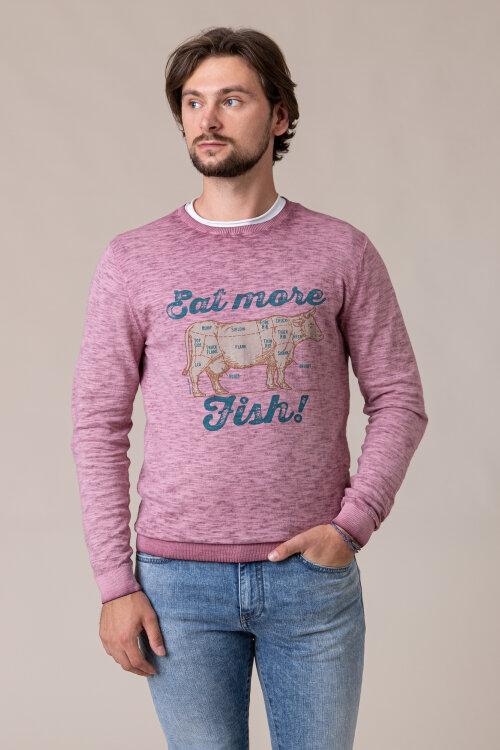 Sweter Colours & Sons 9220-111_299 MERLOT bordowy