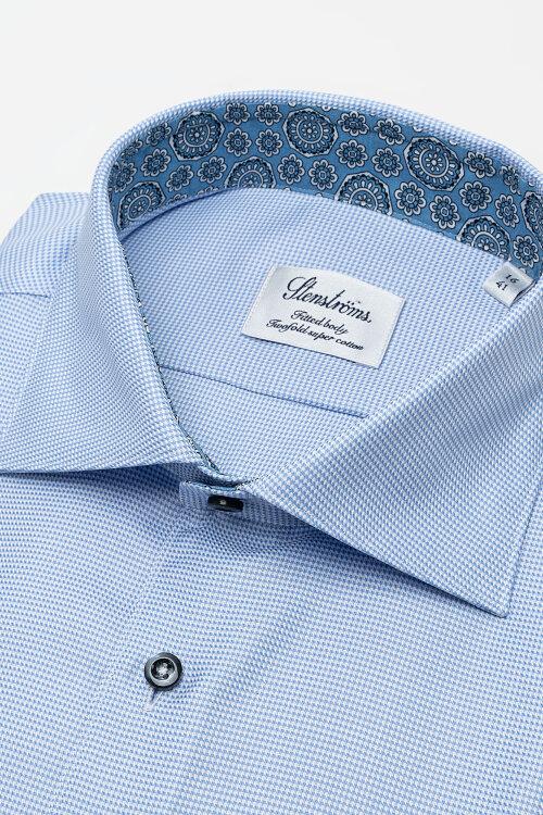 Koszula Stenstroms 684901_2318_110 niebieski