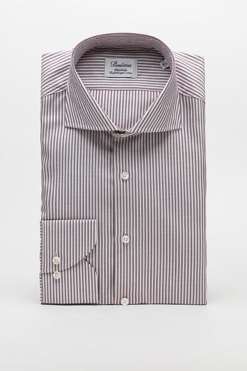 Koszula Stenstroms 602111_8021_562 bordowy