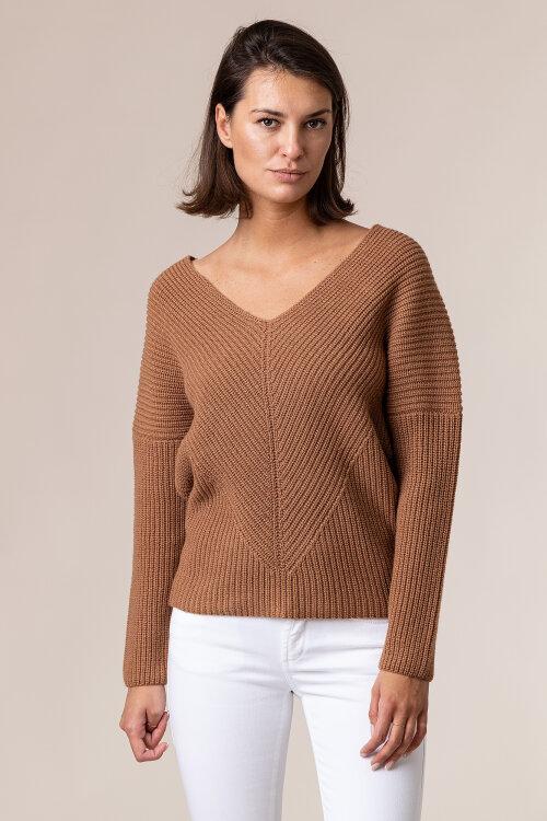 Sweter Trussardi Jeans 56M00316_0F000540_B125 beżowy