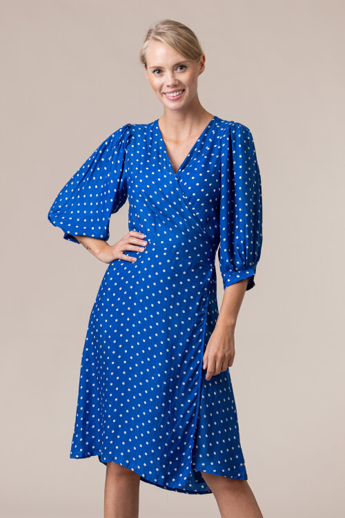 Sukienka Lollys Laundry 20317_2014_NEON BLUE niebieski