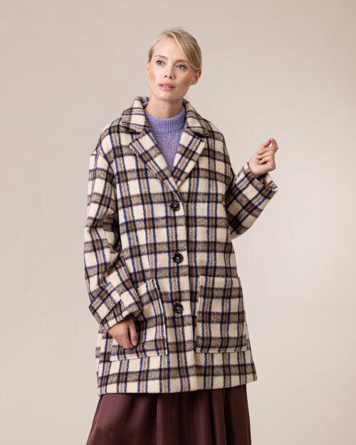 Płaszcz Lollys Laundry 20345_6006_CREME kremowy