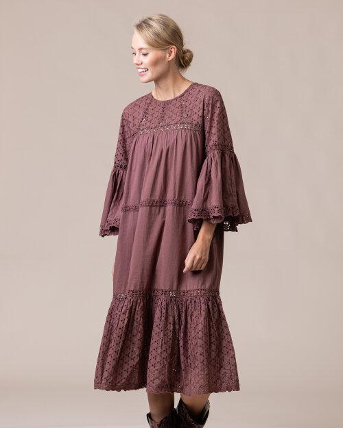 Sukienka Lollys Laundry 20354_2090_DUSTY MAUVE fioletowy