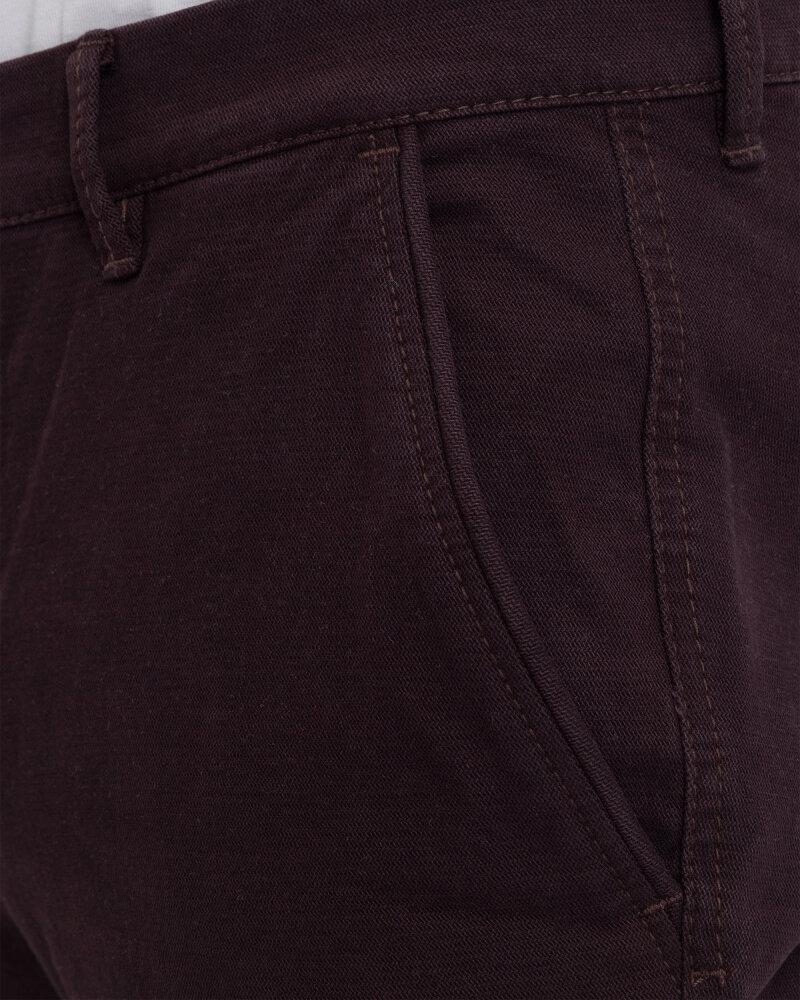 Spodnie Hattric 2223677265_59 bordowy - fot:2