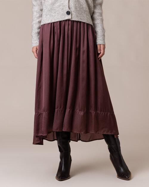 Spódnica Lollys Laundry 20320_4018_DUSTY MAUVE bordowy