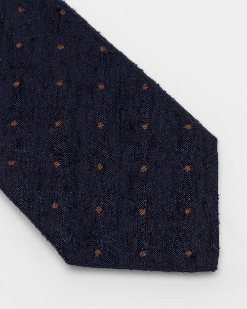 Krawat Stenstroms 913199_001 granatowy