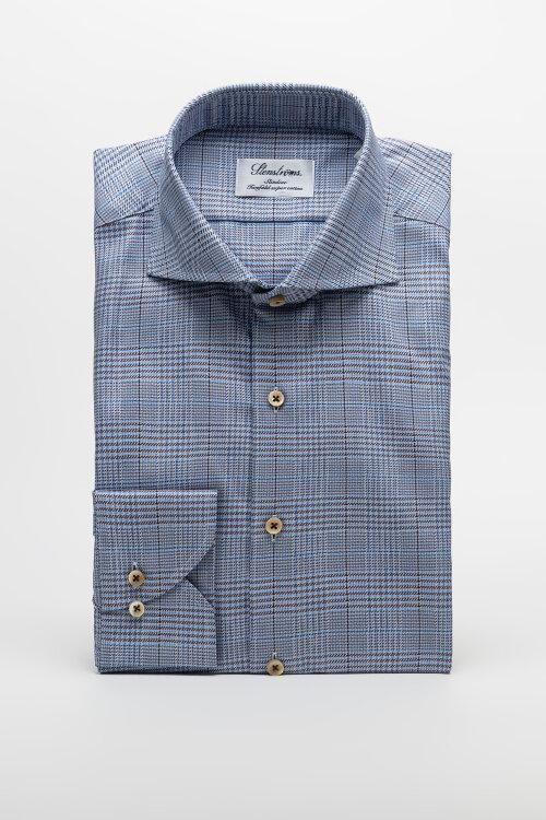 Koszula Stenstroms 712111_8072_273 niebieski