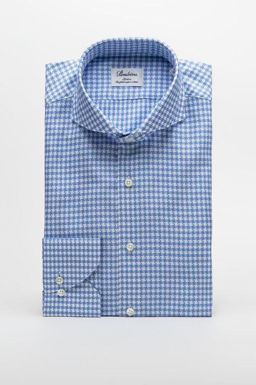 Koszula Stenstroms 702361_8012_123 niebieski