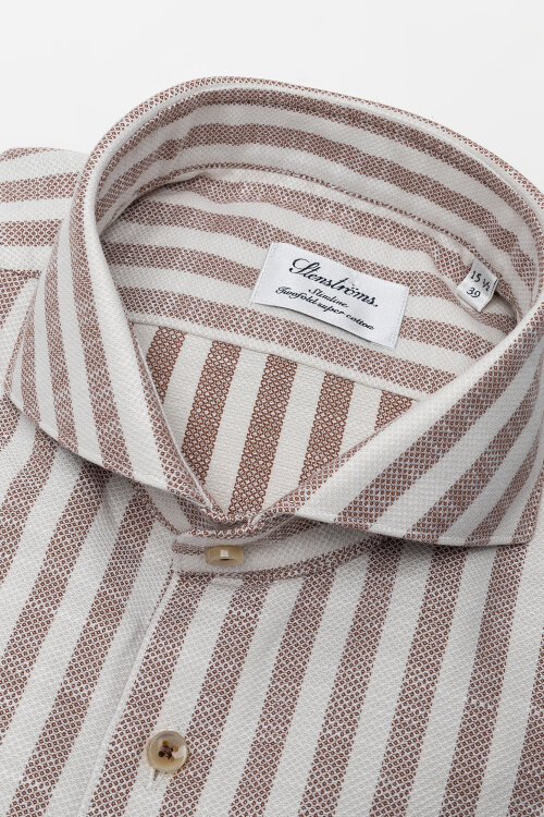 Koszula Stenstroms 712361_8078_252 beżowy
