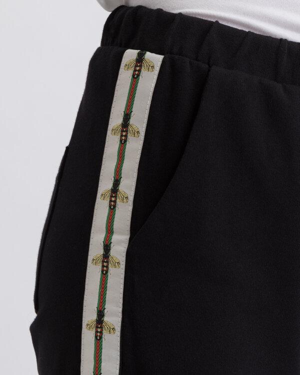 Spodnie Fraternity JZ19_W-TRO-0056_BLACK GOLD BEE czarny