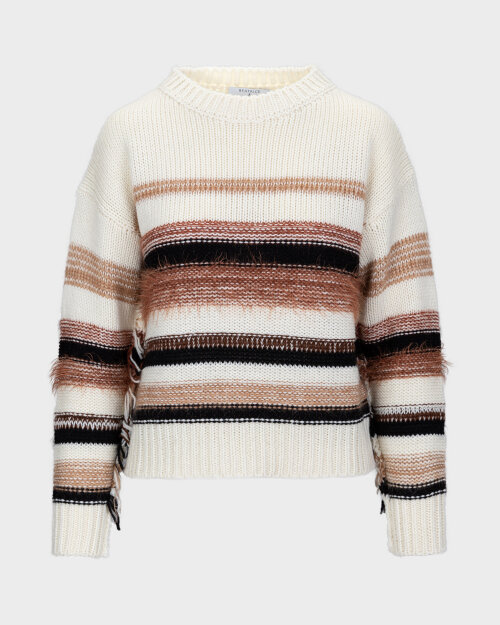Sweter Beatrice B 20FA8016MEXI_120 kremowy