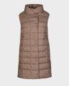 Kamizelka Didriksons 503448_My Women's Vest_443 beżowy