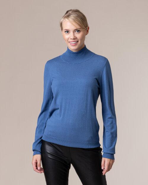 Sweter Trussardi  56M00323_0F000538_U249 niebieski