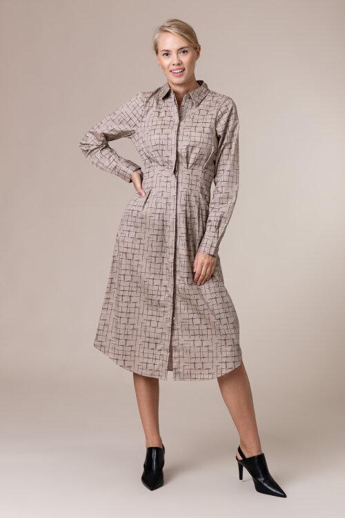 Sukienka Na-Kd 1018-004610_Check Beżowy Na-Kd 1018-004610_CHECK beżowy