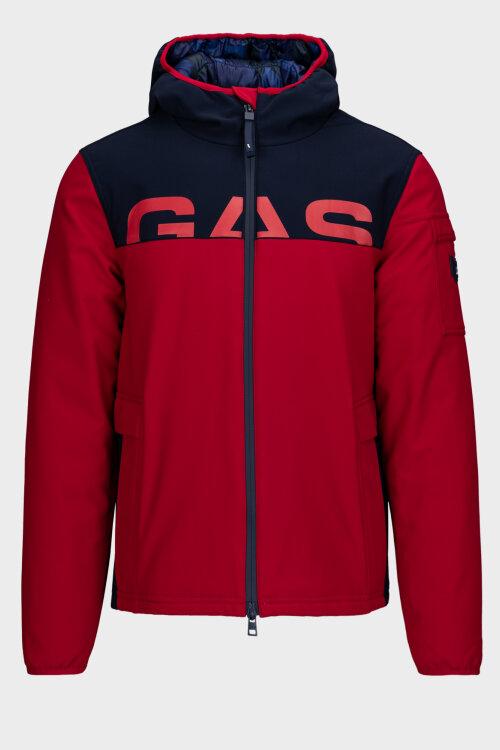 Kurtka Gas 1164_RACKER YOKE_BC13 czerwony