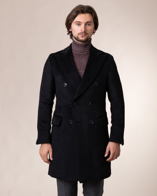 Płaszcz Oscar Jacobson SAUL DELUX 7092_3782_310 czarny
