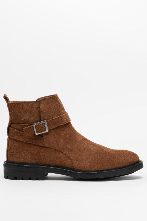 Buty Trussardi Jeans 77A00310_2P000196_B660 brązowy