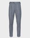 Spodnie (100% Reda Wool) Cavaliere 20AW20518_LYNCH SLIM_91 szary