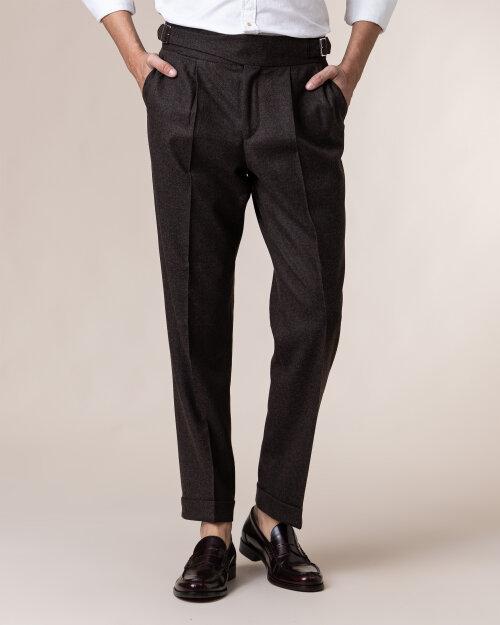 Spodnie Cavaliere 20AW20509_COY_50 brązowy