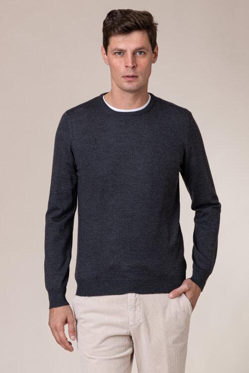 Sweter Gran Sasso 55167_14290_098 ciemnoszary