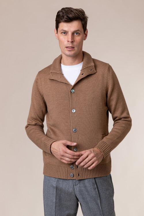 Sweter Gran Sasso 13108_14272_154 brązowy