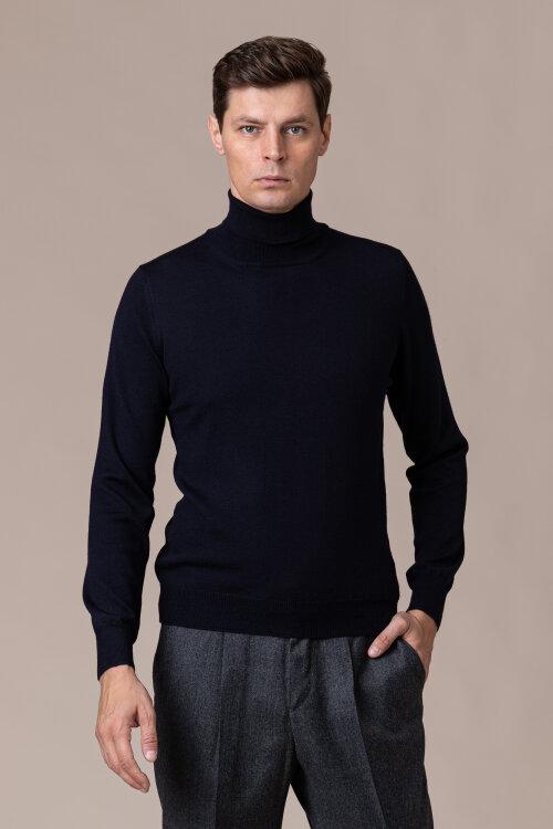 Sweter Gran Sasso 55157_14290_598 granatowy