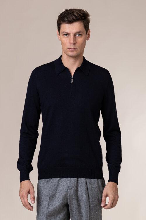 Sweter Gran Sasso 55125_14290_598 granatowy
