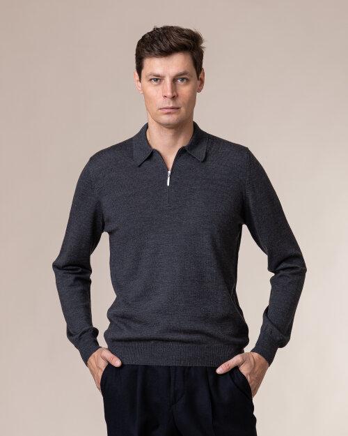 Sweter Gran Sasso 55125_14290_098 ciemnoszary
