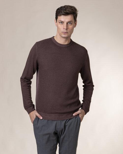 Sweter Baldessarini 5003_30003_8308 brązowy