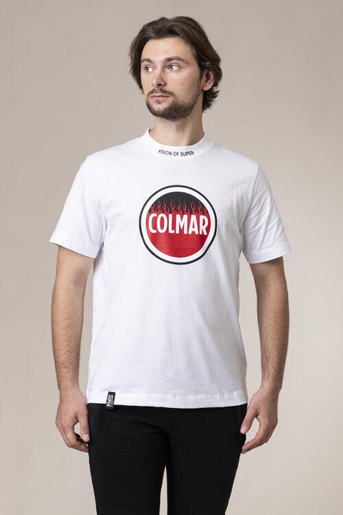 T-Shirt Colmar 4109_7UD_01 biały