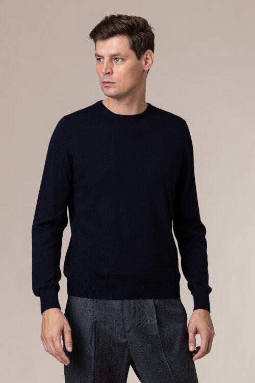 Sweter Gran Sasso 55167_14290_598 granatowy